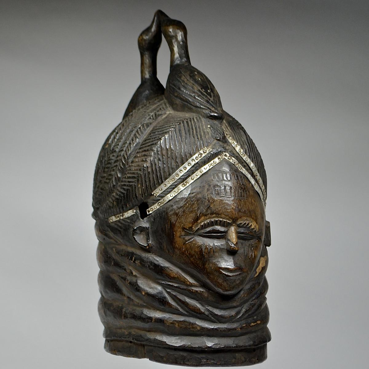 Sowei mask from the Sande society