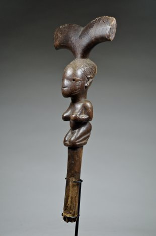 YORUBA STAFF FOR SHANGO