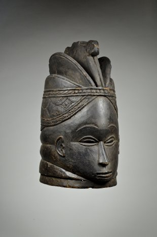 Bundu mask of the Sande Society